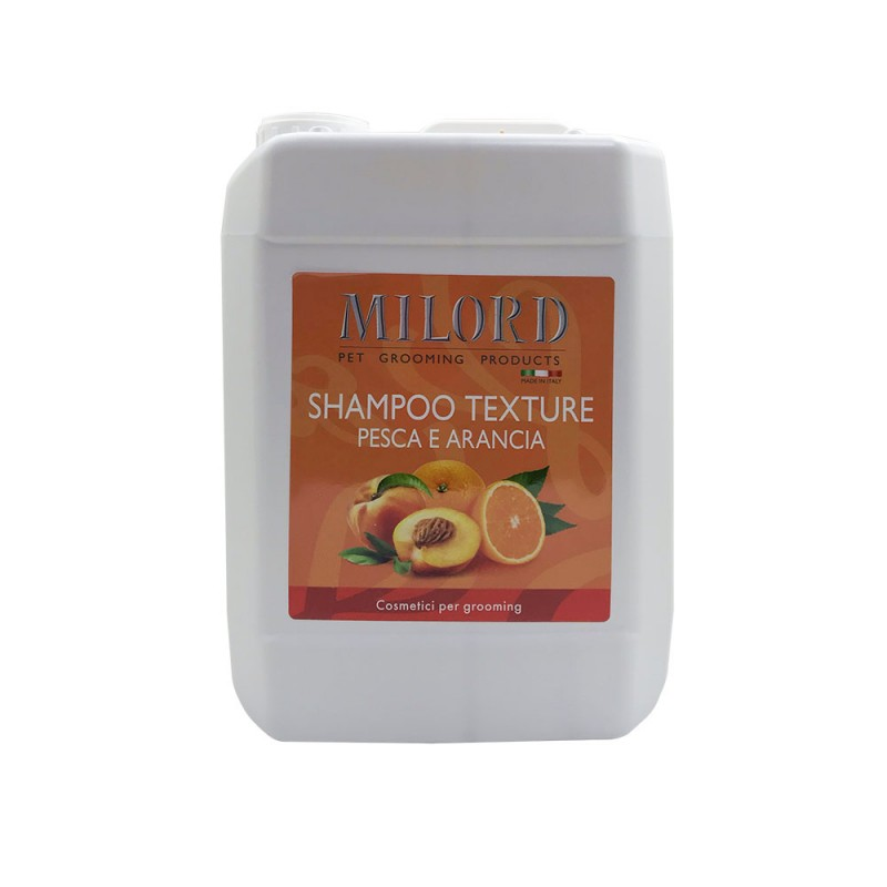 Шампунь текстурирующий MILORD Персик-апельсин